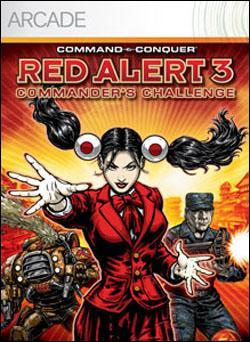 C & C: Red Alert 3 - Commander's Challenge (Xbox 360 Arcade) by Electronic Arts Box Art