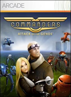 Commanders: Attack of the Genos (Xbox 360 Arcade) by Microsoft Box Art
