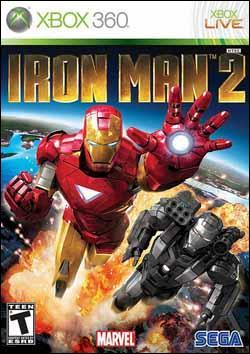 Iron Man 2 (Xbox 360) by Sega Box Art