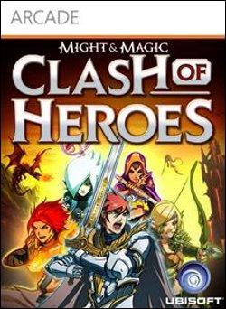 Might and Magic: Clash of Heroes (Xbox 360 Arcade) by Ubi Soft Entertainment Box Art
