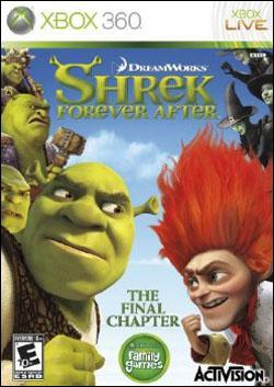 Shrek Forever After (Xbox 360) by Activision Box Art