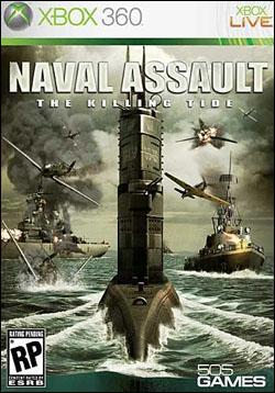 Naval Assault: The Killing Tide (Xbox 360) by 505 Games Box Art