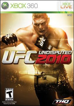 UFC Undisputed 2010 (Xbox 360) by THQ Box Art