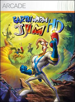 Earthworm Jim HD (Xbox 360 Arcade) by Microsoft Box Art