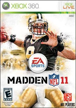 Madden NFL 11 (Xbox 360) by Electronic Arts Box Art