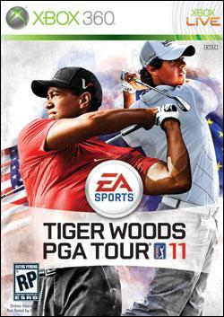 Tiger Woods PGA Tour 11 (Xbox 360) by Electronic Arts Box Art