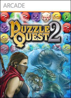 Puzzle Quest 2 (Xbox 360 Arcade) by D3 Publisher Box Art