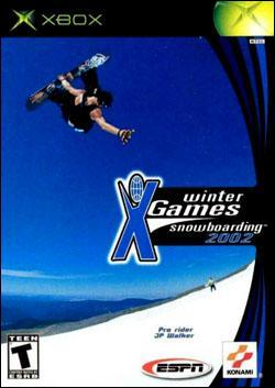 ESPN Winter X Games Snowboarding 2002 (Xbox) by Konami Box Art