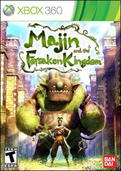 Majin and The Forsaken Kingdom (Xbox 360) by Namco Bandai Box Art