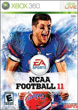 NCAA Football 11  (Xbox 360) by Electronic Arts Box Art