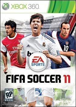 FIFA Soccer 11   (Xbox 360) by Electronic Arts Box Art