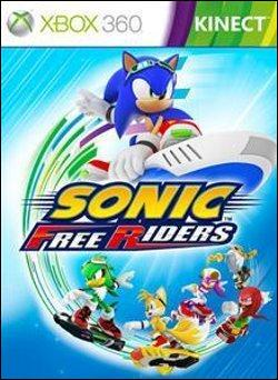 Sonic Free Riders (Xbox 360) by Sega Box Art