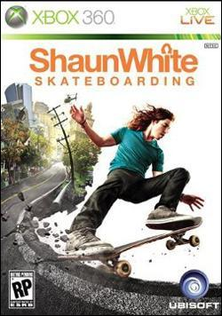 Shaun White Skateboarding (Xbox 360) by Ubi Soft Entertainment Box Art