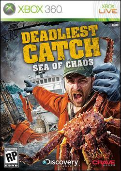 Deadliest Catch: Sea of Chaos (Xbox 360) by Crave Entertainment Box Art