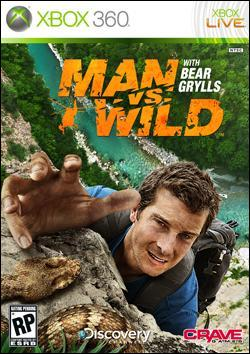 Man vs. Wild (Xbox 360) by Crave Entertainment Box Art