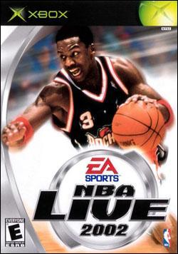 NBA Live 2002 (Xbox) by Electronic Arts Box Art