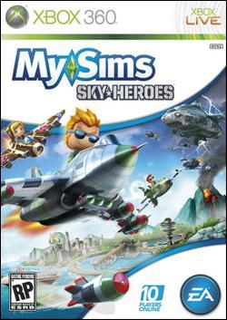 MySims SkyHeroes (Xbox 360) by Electronic Arts Box Art