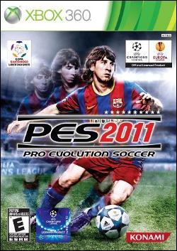 Pro Evolution Soccer 2011 (Xbox 360) by Konami Box Art