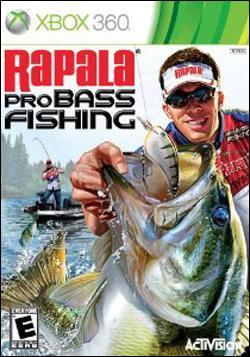Rapala Pro Bass Fishing 2010 (Xbox 360) by Activision Box Art