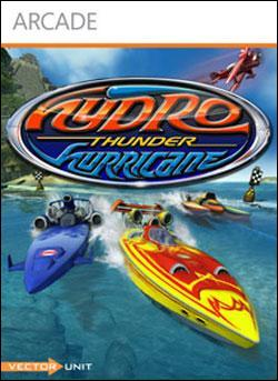 Hydro Thunder Hurricane (Xbox 360 Arcade) by Microsoft Box Art