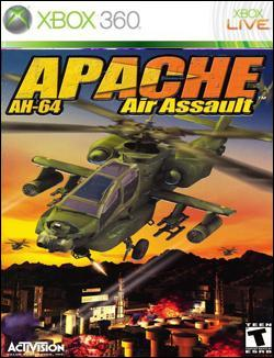 Apache: Air Assault (Xbox 360) by Activision Box Art