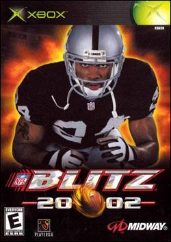 NFL Blitz 2002 (Xbox) by Midway Home Entertainment Box Art