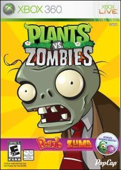Plants vs. Zombies (Xbox 360 Arcade) by Microsoft Box Art