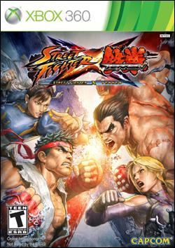 Street Fighter X Tekken (Xbox 360) by Capcom Box Art