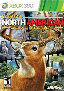Cabela's North American Adventures (Xbox 360) by Activision Box Art