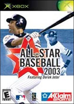 All-Star Baseball 2003 (Xbox) by Acclaim Entertainment Box Art