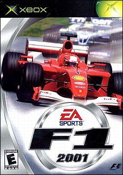 F1 2001 (Xbox) by Electronic Arts Box Art