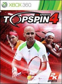 Top Spin 4  (Xbox 360) by Microsoft Box Art