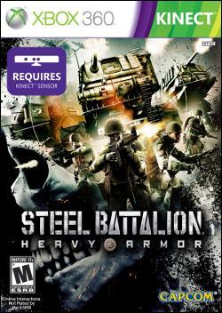 Steel Battalion: Heavy Armor (Xbox 360) by Capcom Box Art