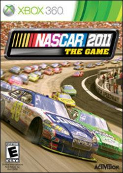 NASCAR The Game 2011 (Xbox 360) by Activision Box Art
