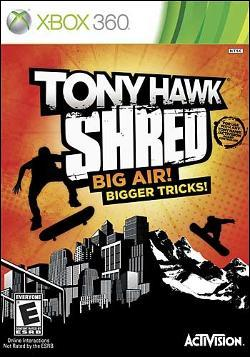 Tony Hawk: Shred (Xbox 360) by Activision Box Art