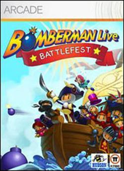 Bomberman Live: Battlefest (Xbox 360 Arcade) by Microsoft Box Art