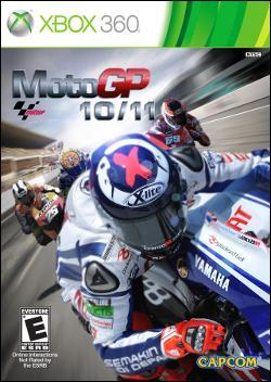 MotoGP 10-11 (Xbox 360) by Microsoft Box Art