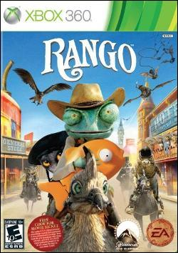 Rango (Xbox 360) by Electronic Arts Box Art
