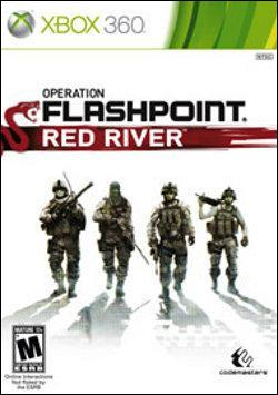 Operation Flashpoint: Red River (Xbox 360) by Microsoft Box Art
