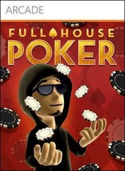 Full House Poker (Xbox 360 Arcade) by Microsoft Box Art