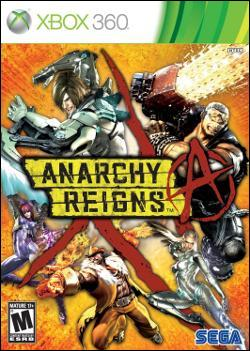 Anarchy Reigns (Xbox 360) by Sega Box Art