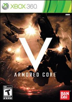 Armored Core 5 (Xbox 360) by Namco Bandai Box Art