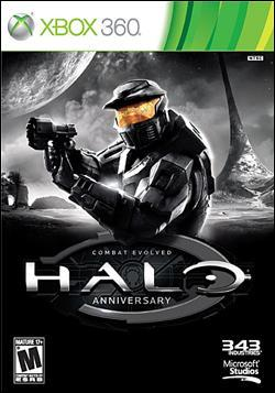 Halo: Combat Evolved Anniversary (Xbox 360) by Microsoft Box Art