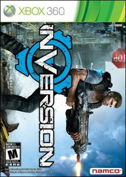 Inversion (Xbox 360) by Namco Bandai Box Art