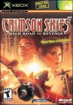 Crimson Skies: High Road to Revenge (Xbox) by Microsoft Box Art