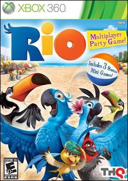 Rio (Xbox 360) by THQ Box Art