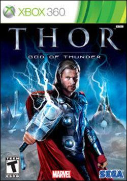 Thor: God of Thunder (Xbox 360) by Sega Box Art