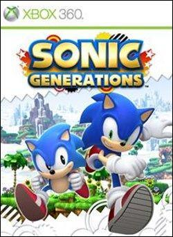 Sonic Generations (Xbox 360) by Sega Box Art