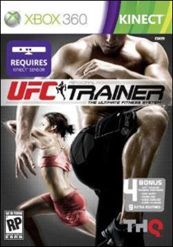 UFC Personal Trainer: The Ultimate Fitness System (Xbox 360) by THQ Box Art
