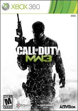 Call of Duty:  Modern Warfare 3 (Xbox 360) by Activision Box Art